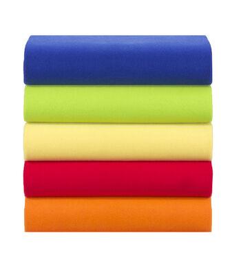 "Blizzard Fleece Fabric Solids 58"""