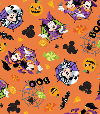 "Halloween Cotton Fabric 43""-Feelin' Spooky"