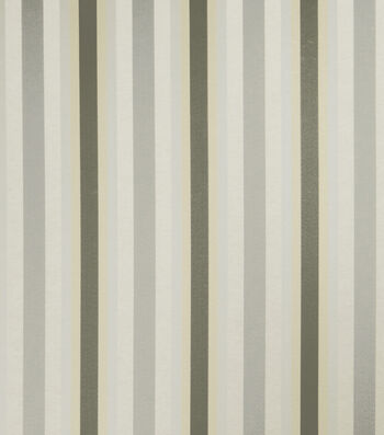 """Jaclyn Smith Upholstery Fabric 54""""-Anubis/Dove Gray"""