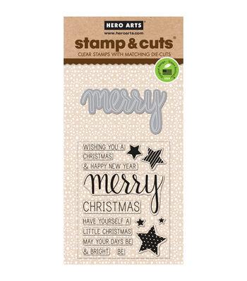 Hero Arts® Merry Stamp & Cuts