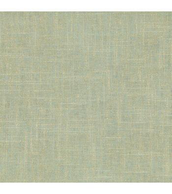 "Waverly Upholstery Fabric 54""-Gilded Robins Egg"