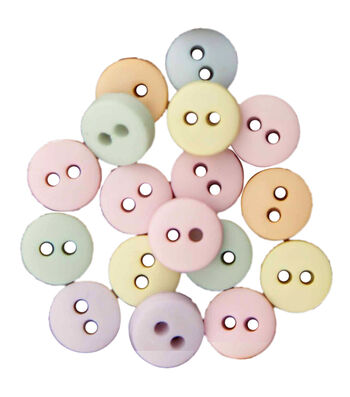 Buttons Galore Pastel Buttons