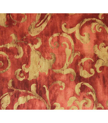Richloom Studio® Print Fabric-Crimson Olmstead