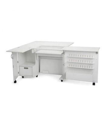Kangaroo Kabinets Wallaby II Sewing Cabinet-White