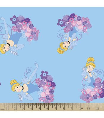 Disney® Princess Print Fabric-Cinderella