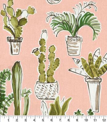 Waverly Upholstery Fabric 54''-Cactus Cafe Quartz
