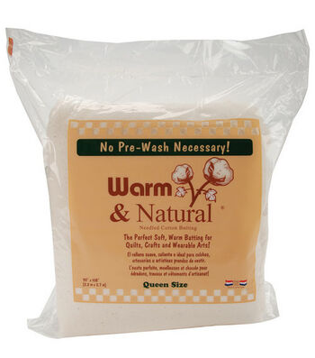 The Warm Company Warm & Natural® Cotton Batting 90''x108''