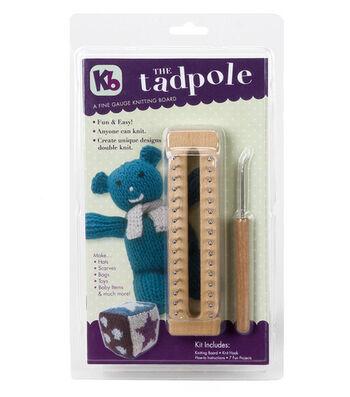 Authentic Knitting Board The Tadpole Knitting Board Kit