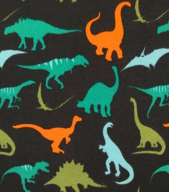"Doodles Juvenile Apparel Fabric 57""-Dino Rock Interlock"