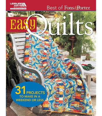 Leisure Arts-Best Fons & Porter Easy Quilts