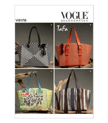 Vogue Patterns Crafts Totes & Bags-V9178