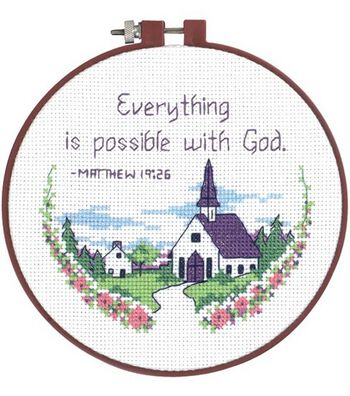 Dimensions Learn-A-Craft Everything Is Possible Cntd X-Stitch