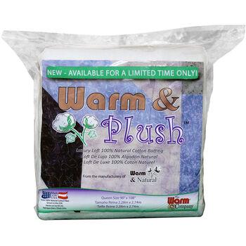 The Warm Company Warm & Plush Queen Cotton Batting