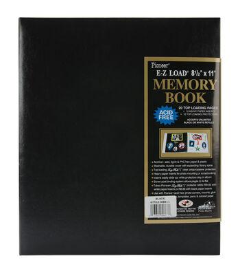 Pioneer EZ-Load 8 1/2'' x11'' Postbound Albums