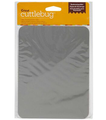 "Cuttlebug® Rubber Embossing Mat-5.25""x7.25"""