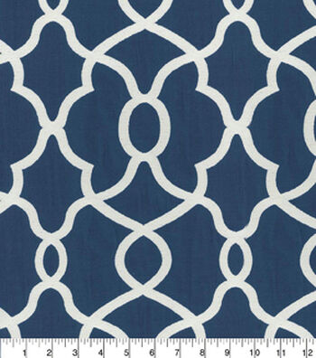 Kelly Ripa Home Upholstery Fabric-Clearly Cool Indigo