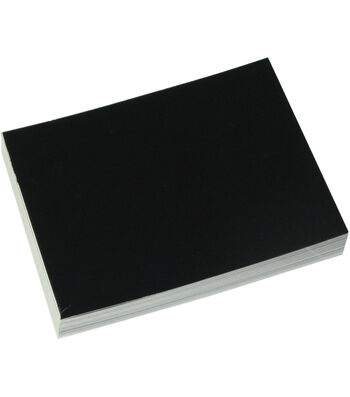 "Judkins 4-1/2""x5-1/2"" Postcards-50PK/Glossy Black"
