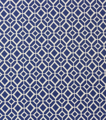 Solarium Outdoor Print Fabric 54''-Marine Cindy