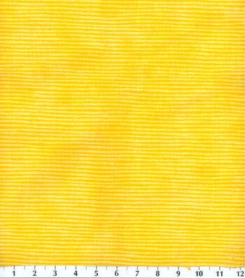 "Keepsake Calico™ Cotton Fabric 44""-Yellow Stripe"
