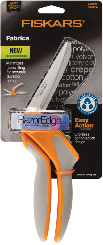 Fiskars RazorEdge Easy Action 8In Fabric Shears