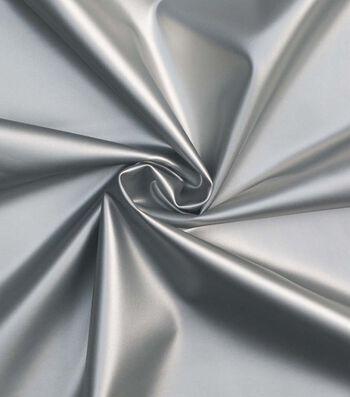 "Cosplay by Yaya Han Pleather Fabric 57""-Silver"