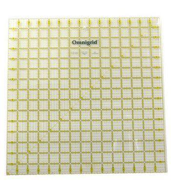 """Omnigrid Quilting Square Ruler 15"""" x 15"""""""