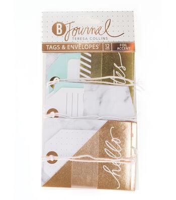 Teresa Collins™ B-Journal Pack of 12 Tags & Envelopes