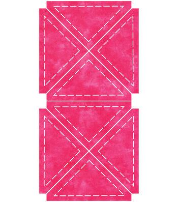 AccuQuilt Go! Fabric Cutting Dies Quarter Square Finished Triangle