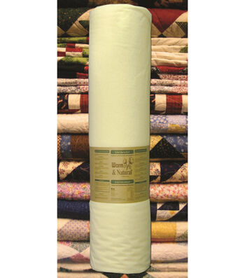 The Warm Company Warm&Natural Cotton Quilt Batting- Sold by the Yard