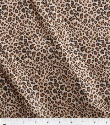 "Fashion Lining Fabric 57""-Leopard"