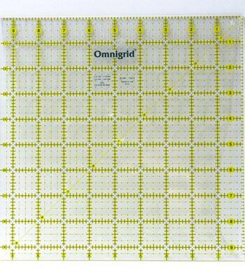 """Omnigrid Quilter's Square-12-1/2""""X12-1/2"""""""