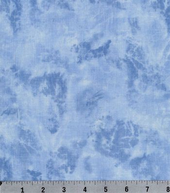 "Keepsake Calico™ Cotton Fabric 44""-Sky Marbled Texture"
