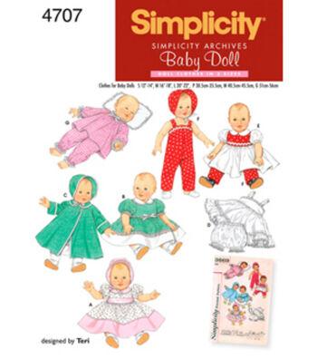 Simplicity Pattern 4707A S M L -Simplicit