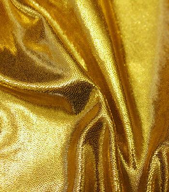 """Mystique Fabric 59""""-Gold"""