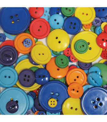 Favorite Findings Big Bag of Buttons-Rainbow