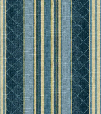 """Waverly Upholstery Fabric 55""""-Etienne Indigo"""