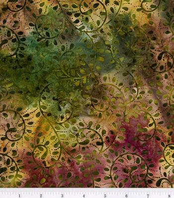 Legacy Studio Cotton Fabric-Scroll Batik