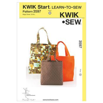 Kwik Sew Crafts Totes & Bags-K3597