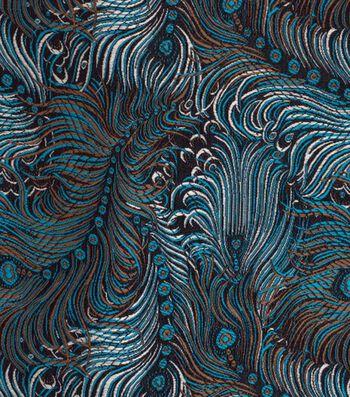 """Cosplay by Yaya Han Brocade Fabric 58""""-Peacock"""