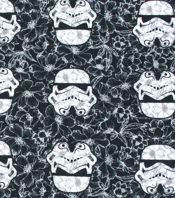 """Star Wars™ Cotton Fabric 58""""-Stromtroopers Allover"""