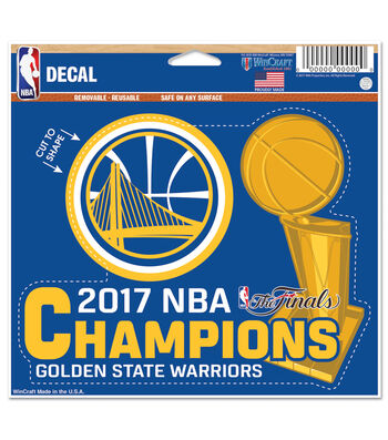 Golden State Warriors Championship Decal