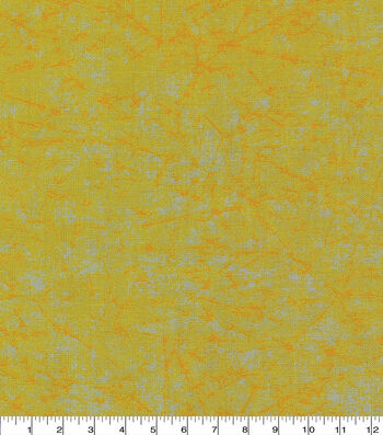 "Keepsake Calico Cotton Fabric 43""-Yellow Distressed??"