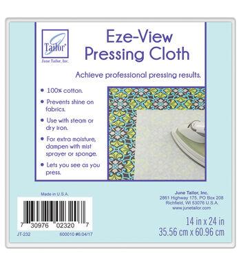 """June Tailor Eze-View 100% Cotton Press Cloth-24""""x14"""""""