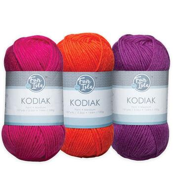 Fair Isle Kodiak Yarn-Solids