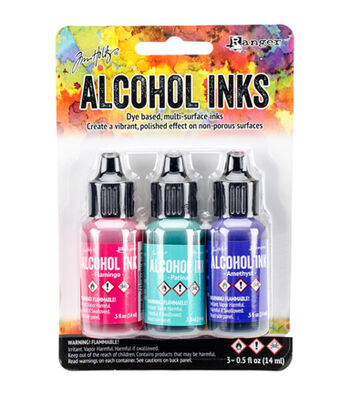 Tim Holtz 3 Pack 0.5fl.oz. Alcohol Ink-Beach Deco