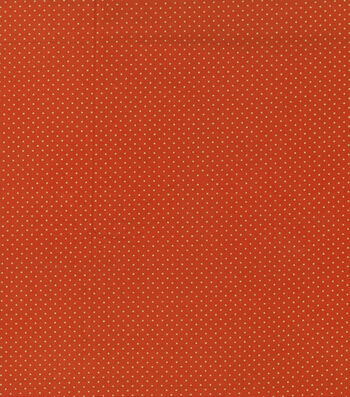 "Autumn Inspirations™ Cotton Fabric 43""-Metallic Dots"