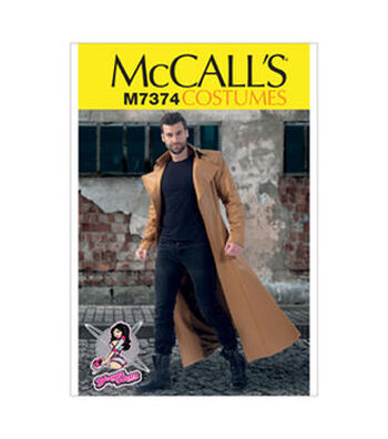 McCall's Pattern M7374-Collared and Seamed Coats
