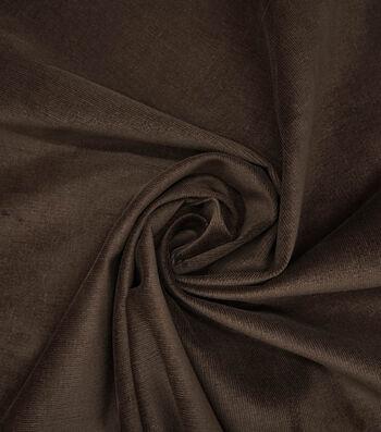 "Sportswear Stretch Corduroy Fabric 55""-Brown"