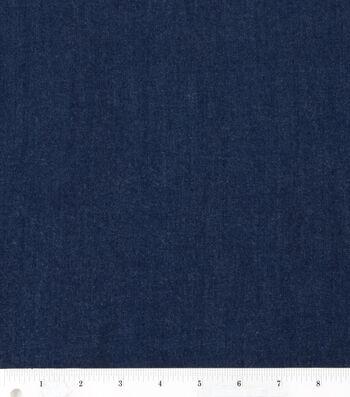 Sew Classics Bottom Weight 4 oz. Stretch Denim Fabric-Dark Wash