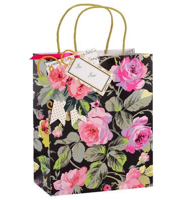 Anna Griffin Grace Floral Cub Gift Bag 4 Count